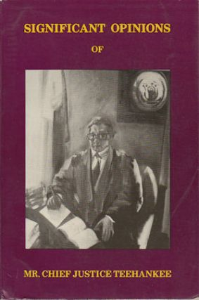 Significant Opinions of Mr Chief Justice Teehankee. EDUARDO F. HERNANDEZ, PRESDIENT OF THE...