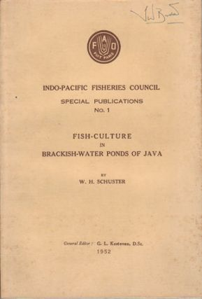 Fish-Culture in Brackish-Water Ponds of Java. W. H. SCHUSTER