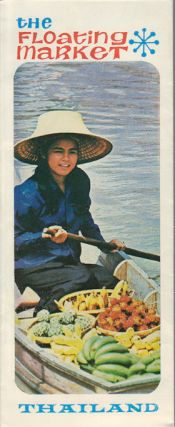 The Floating Market. Thailand. 1965 THAI TOURISM PAMPHLET