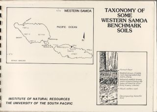 Enivronmental Studies Report No. 28. Taxonomy of Some Western Samoa Benchmark Soils. R. J....