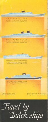 Round the World Routes via the Netherland East Indies. The Netherlands Indies Welcome You.