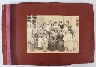 Japanese Family Photograph Album of Manchuria and Colonial Korea]. EARLY 1920S PHOTOGRAPH ALBUM...