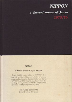 NIPPON. A charted survey of Japan 1975/76. TSUNETA YANO MEMORIAL SOCIETY
