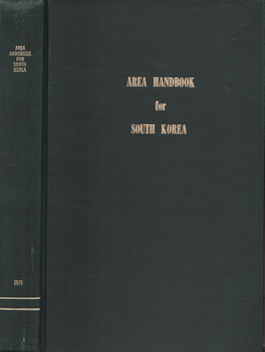 Area Handbook for South Korea. NENA VREELAND