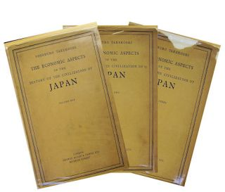 The Economic Aspects of the History of the Civilization of Japan. YOSOBURO TAKEKOSHI