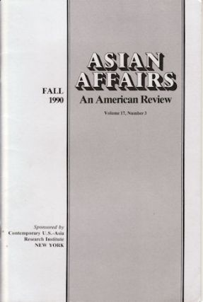Asian Affairs. An American Review. ASIAN AFFAIRS