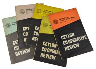 Ceylon Co-Operative Review. CEYLON