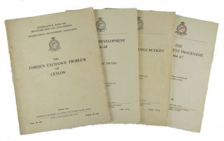The Foreign Exchange Problem of Ceylon together with other reports. CEYLON -ECONOMICS