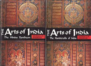 The Arts of India. GEORGE C. M. BIRDWOOD