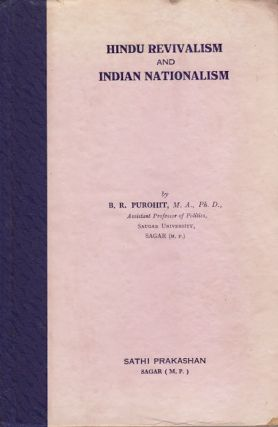 Hindu Revivalism and Indian Nationalism. B. R. PUROHIT