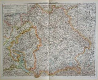 Wurtemberg and Bavaria. MAP