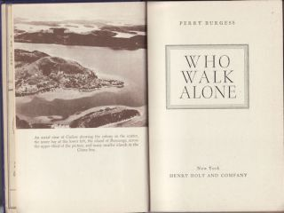 Who Walk Alone. PERRY BURGESS.