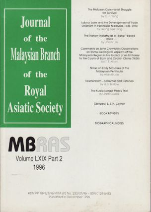 Journal of the Malaysian Branch of the Royal Asiatic Society. MBRAS