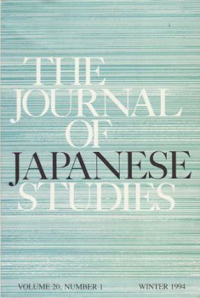 The Journal of Japanese Studies. SUSAN B. HANLEY.