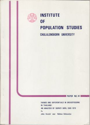 Trends and Differentials in Breastfeeding in Thailand: An Analysis of Survey Data, 1969-1979....