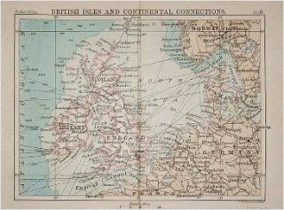 British Isles and Continental Connections. BARTHOLOMEW