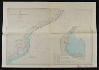 Six Twentieth Century American Coastal Charts of India. SIX COASTAL CHARTS OF INDIA