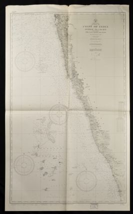 Coast of British India. #1589: Karachi to Bombay including the Gulfs of Cutch and Cambay. (7th. ...