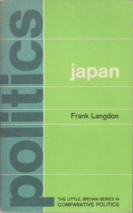 Politics in Japan. FRANK LANGDON.