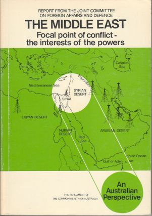 The Middle East. Focal point of conflict - the interests of the powers. An Australian...