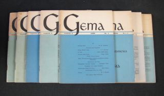 Gema. INDONESIAN CULTURAL PERIODICAL.