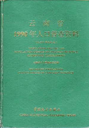 Tabulation on the 1990 Population Census of Yun Nan Province (Computer Tabulation). POPULATION...