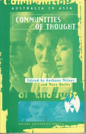 Communities of Thought. ANTHONY AND MARY QUILTY MILNER