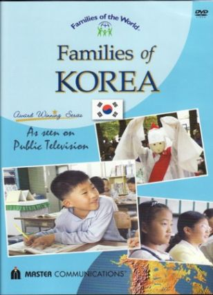 Families of Korea. DVD. DVD FOR CHILDREN